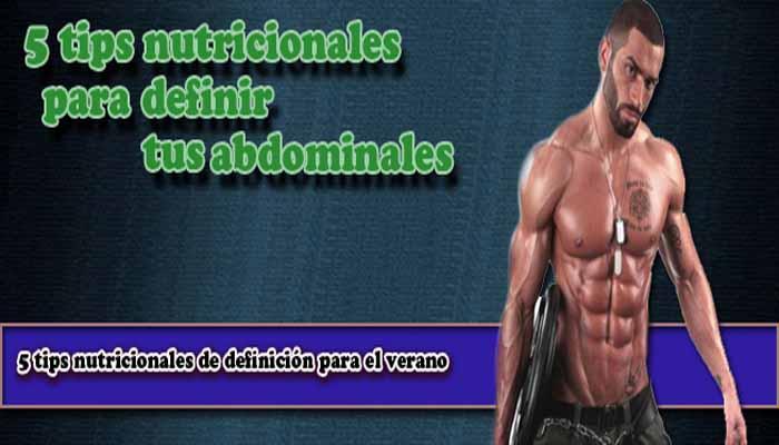Definir los abdominales